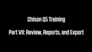 Chison Q5 Ultrasound Training Tips and knobology