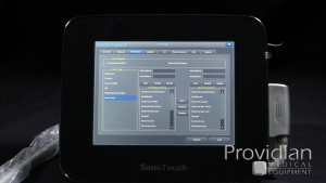 SonoTouch 30 system setup