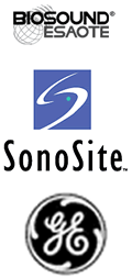 Biosound GE and SonoSite ultrasound machines for rent