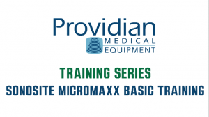 SonoSite MicroMaxx Ultrasound Training