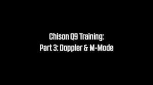 Chison Q9 Ultrasound Training