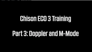 Doppler and M-Mode training for the Chison ECO3 Ultrasound