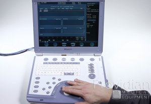 Export images from your GE Vivid i machine and learn to review images and reports ultrasound training