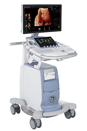 GE Voluson S10 4D ultrasound machine