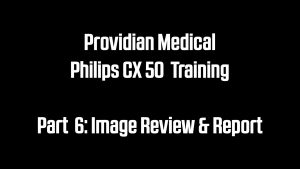 Philips CX50 Image Review and report ultrasound how to